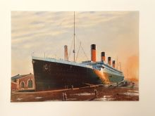 Titanic in the Thompson Dock